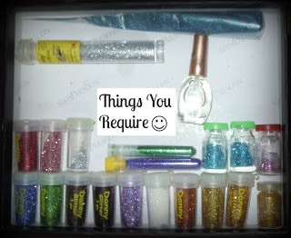 DIY Sparkling Keys Stash
