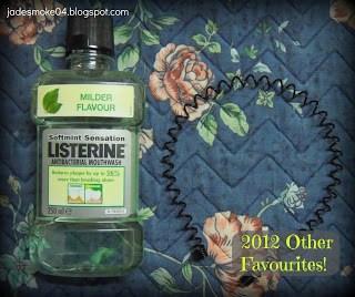 2012 favourites, listerine mild & metal headband