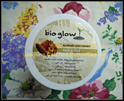 Bio Glow Almond and Honey Face Scrub