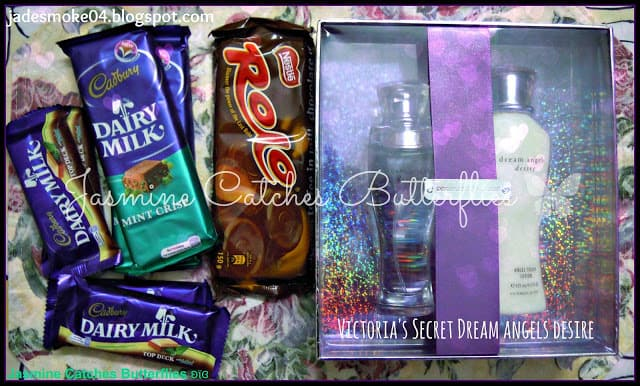Dairy Milk Mint Crisp, Top Deck & Victoria's Secret Dream Angels Desire