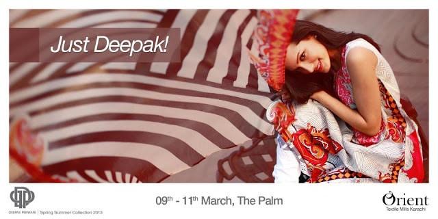 Deepak Perwani-Orient Lawn Collection 2013