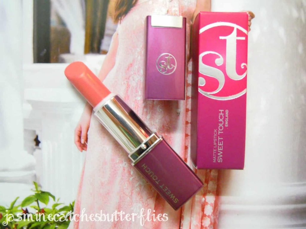 Sweet Touch England Lipstick 761 Matte | Review and Swatches