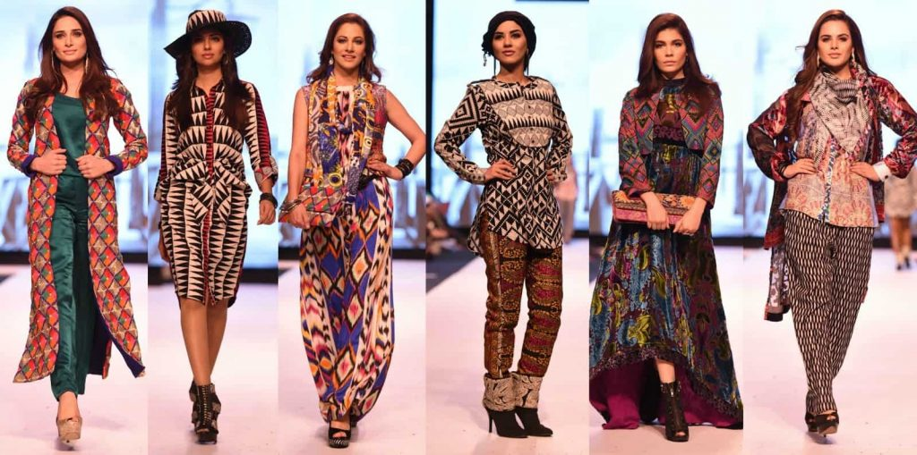 Gul Ahmed at Fashion Pakistan Week A/W 2014