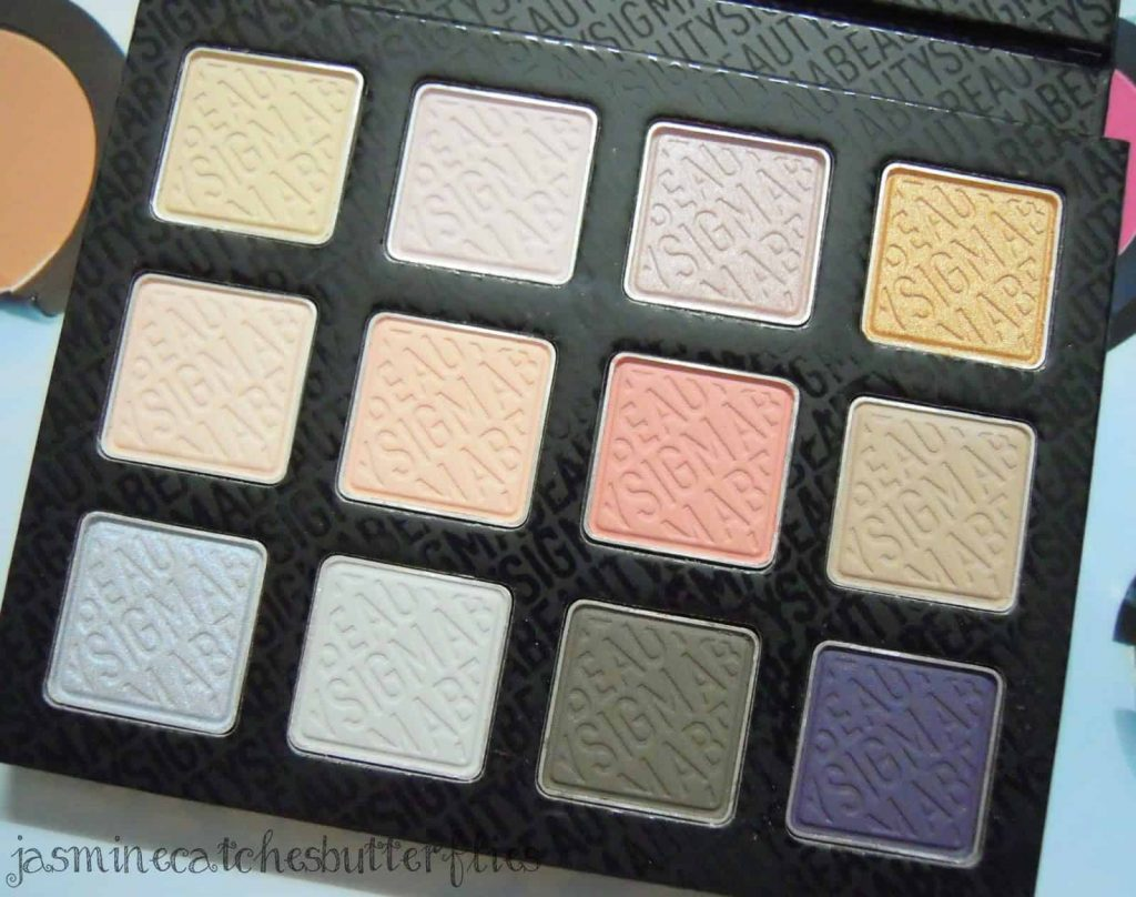 Sigma Fall Softly Eye Shadow Palette