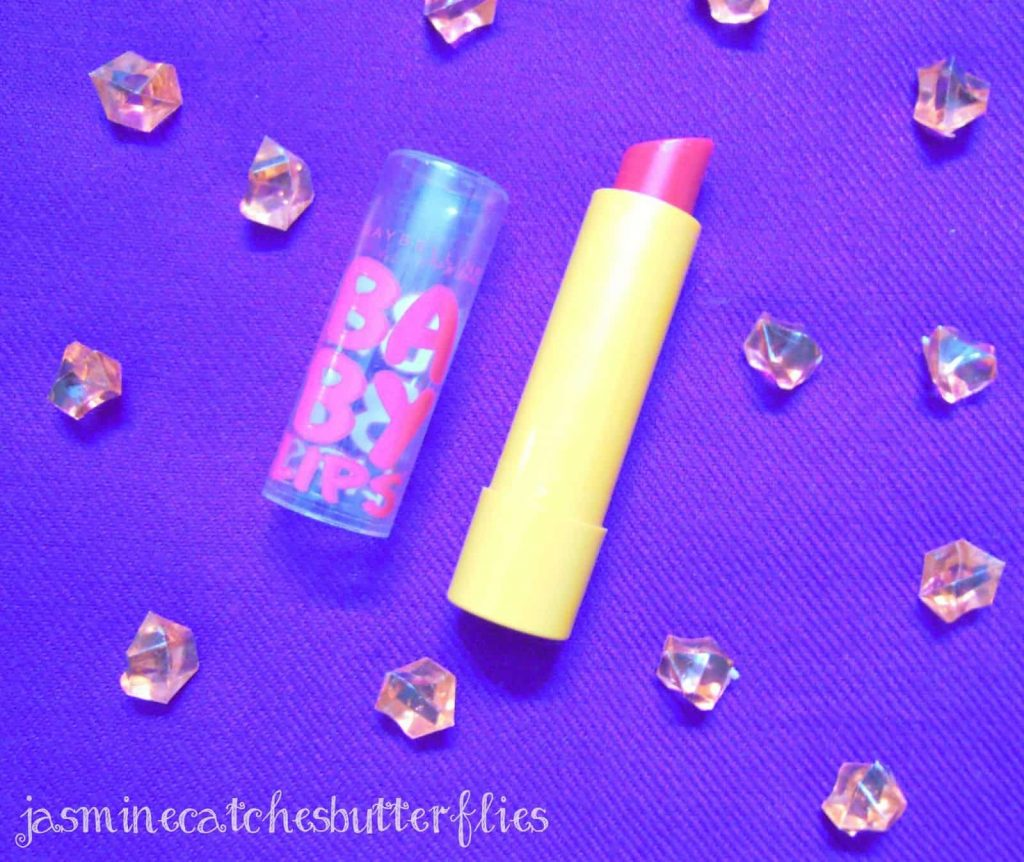 Maybelline New York Baby Lips Cherry Me Review and Swatch