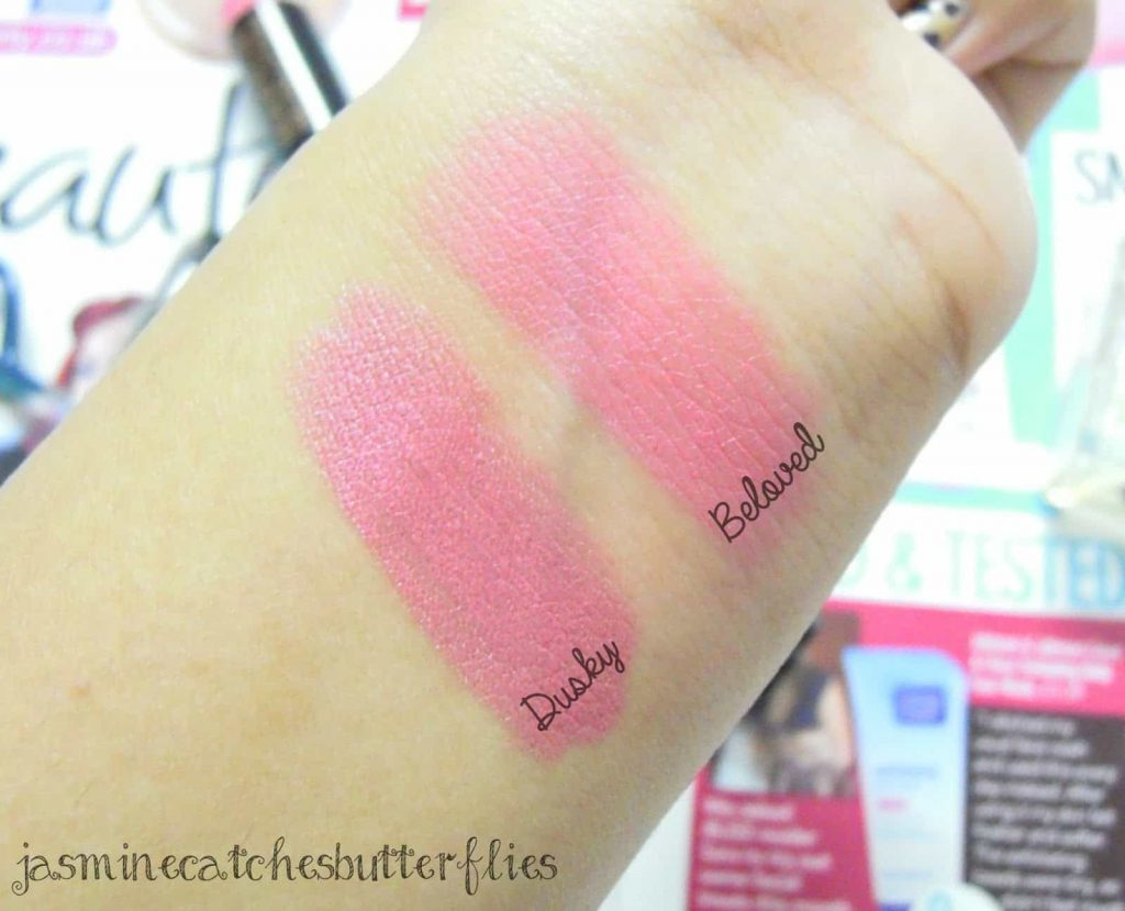Makeup Revolution Matte Lipstick Beloved Review and Swatches