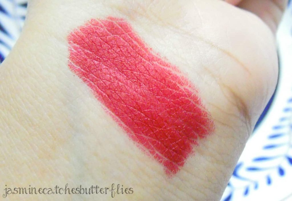 MAC Ruby Woo swatch and review