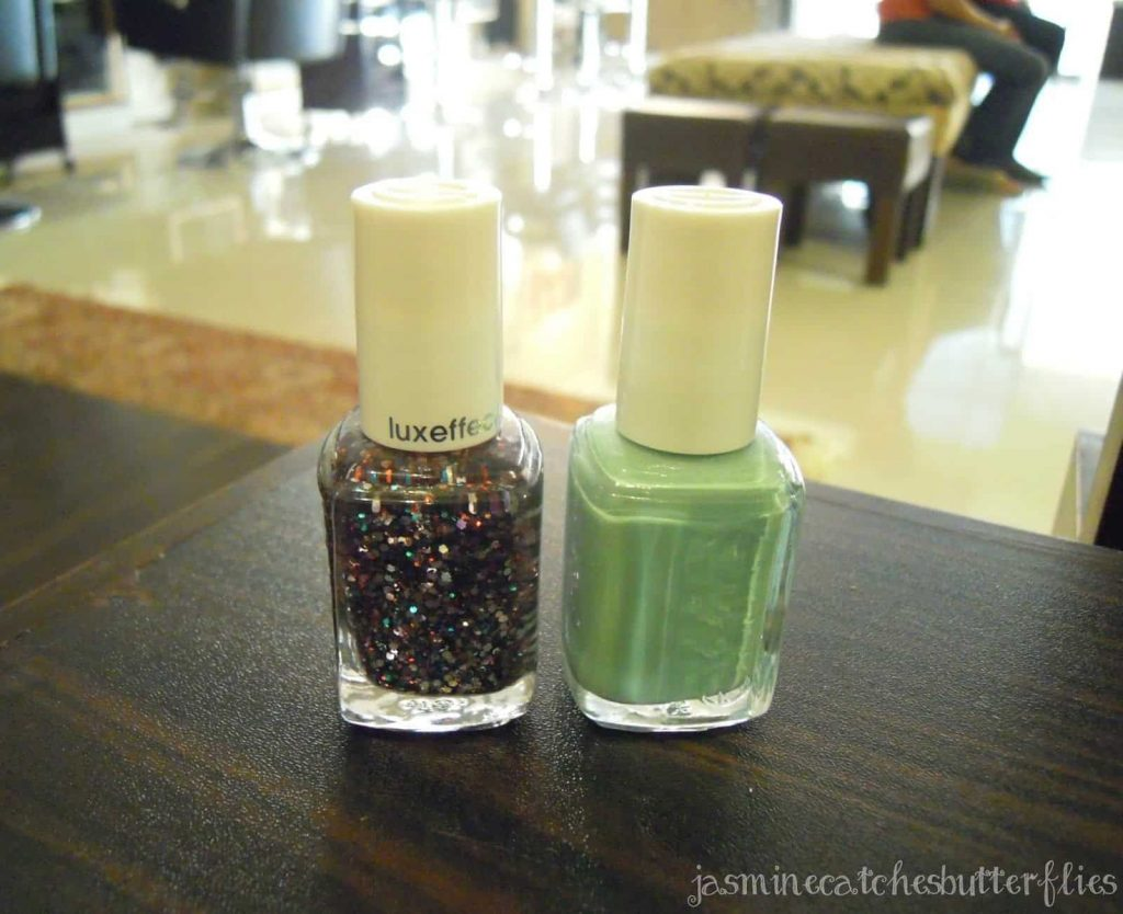 Essie Nail Polishes Turquoise and Caicos Jazzy Jubilant
