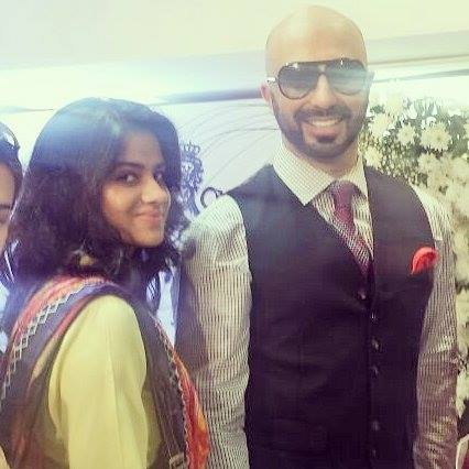 Jadirah Sarmad and HSY at HSY and Ittehad Lawn Launch