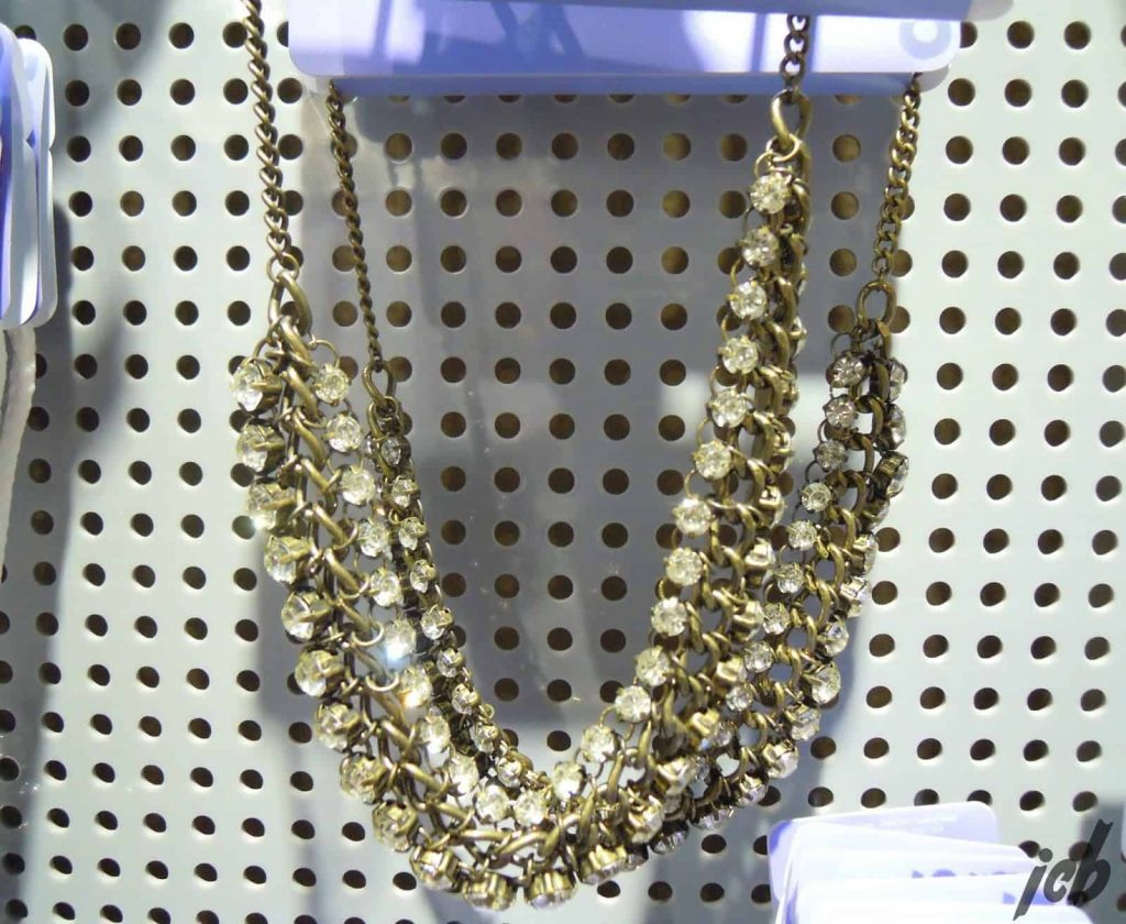 Claire's Chunky Gold Necklace