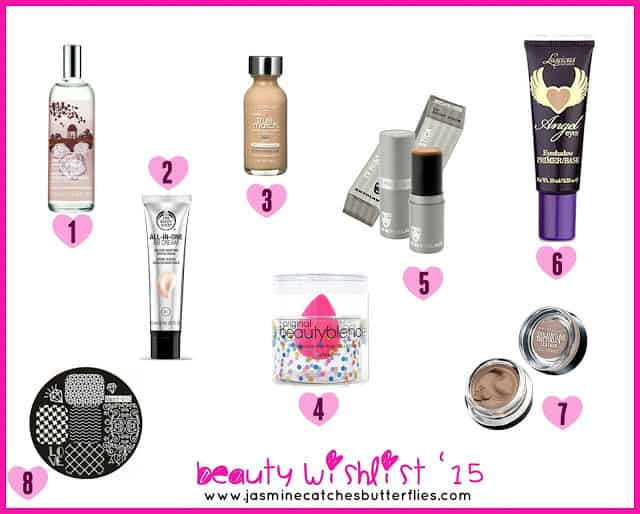 Beauty Wishlist 2015
