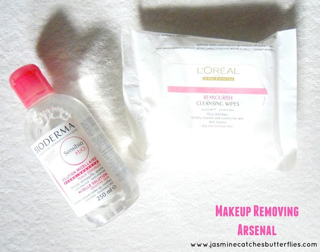 The Makeup Removing Arsenal