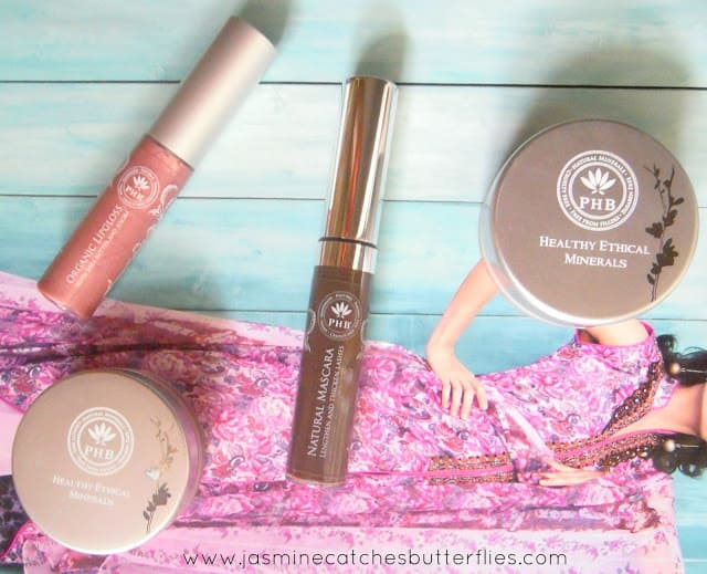 PHB Ethical Beauty Makeup Review and Swatches