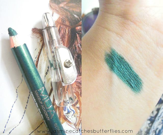 MUA Intense Color Pencil Liner in Forest Green