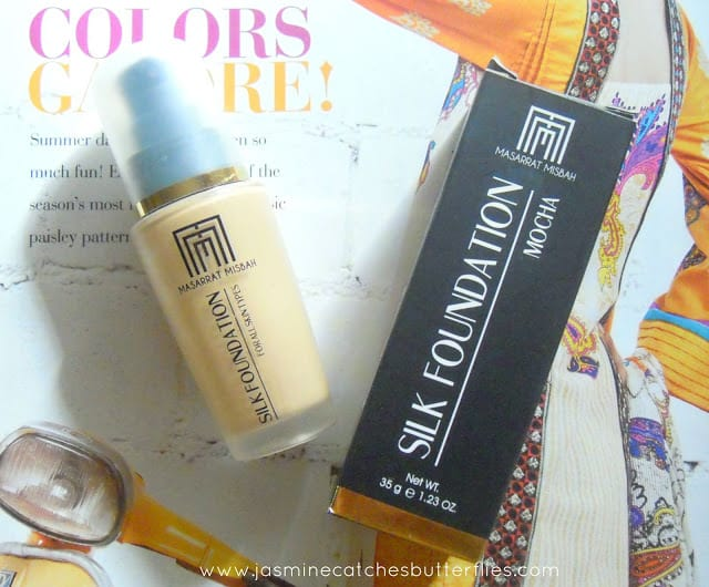 Masarrat Misbah Silk Foundation Review and Swatches