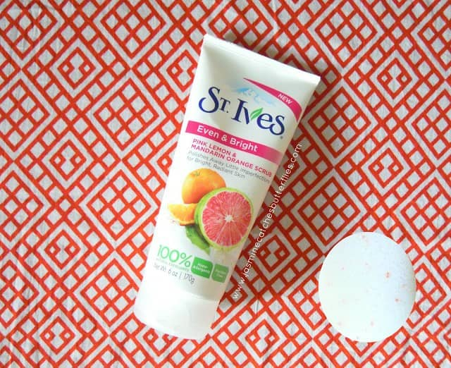 St. Ives Pink Lemon and Mandarin Orange Scrub Review