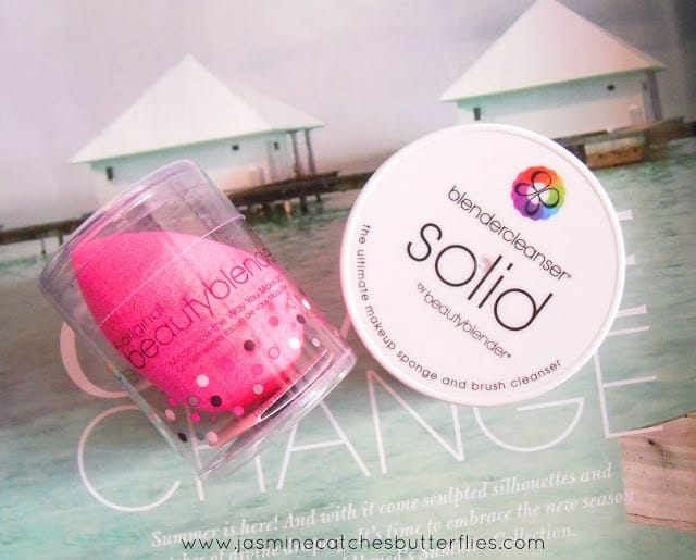 Beauty Blender and Cleanser Solid