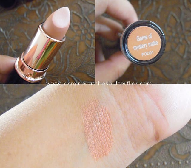 Makeup Revolution Game of Mystery Matte Iconic Pro Lipstick