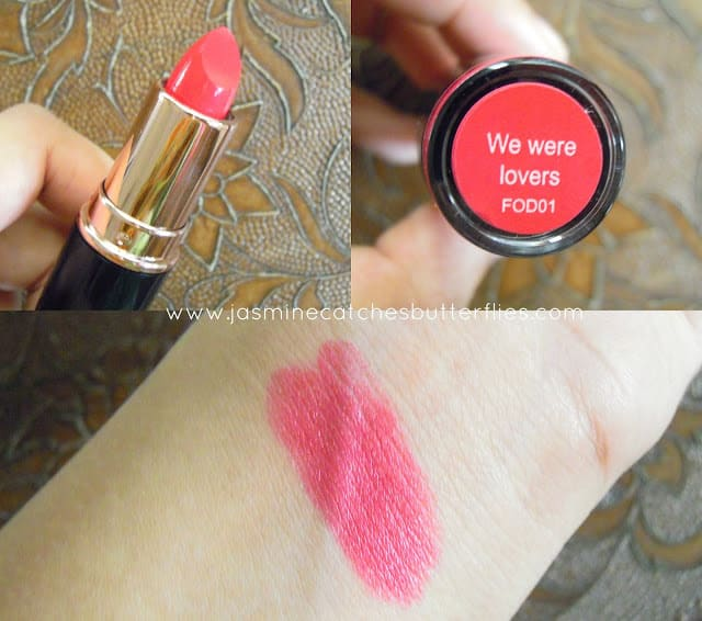 Makeup Revolution We Were Lovers Iconic Pro Lipsticks