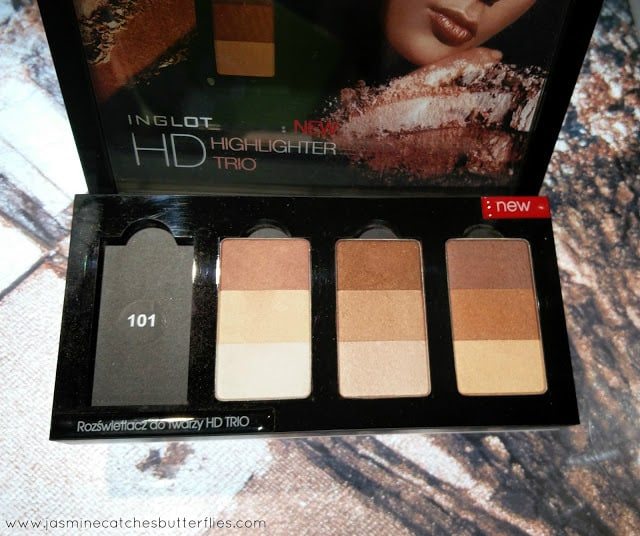 Inglot HD Trio Highlighters
