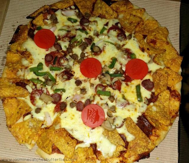 Pizza Hut Doritos Pizza
