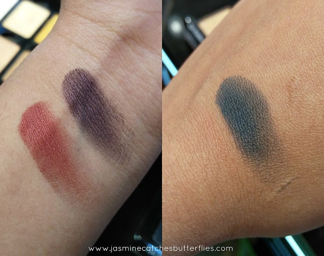 Inglot Eyeshadows Swatched
