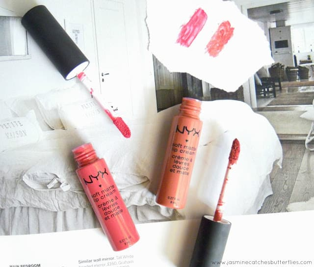 NYX Soft Matte Lip Cream: San Paulo and Cannes