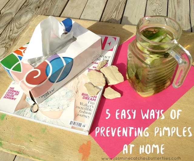 5 Easy Ways of Preventing Pimples At Home