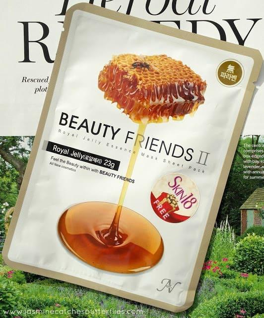Beauty Friends II Royal Jelly Essence Mask Sheet Pack