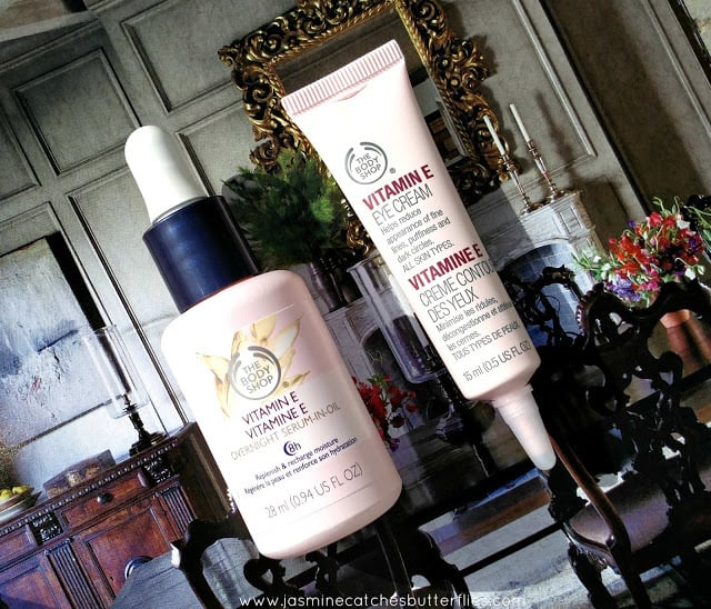 The Body Shop Vitamin E Overnight serum and Eye cream