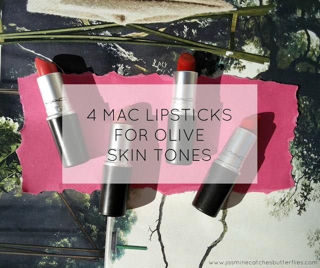 MAC lipsticks for Pakistani Indian Skin Tones