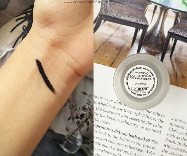 Maybelline Lasting Drama Gel Eyeliner in Noir Black Review