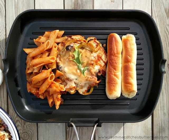 Chicken Parmesan Steak from Ole Express