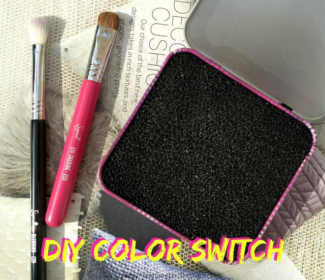 DIY Instant Colour Switching Brush Cleaner