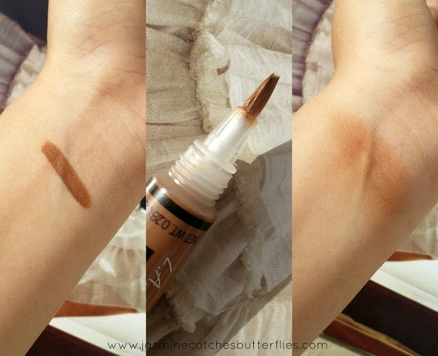 L.A. Girl HD Pro Concealer Beautiful Bronze Swatches