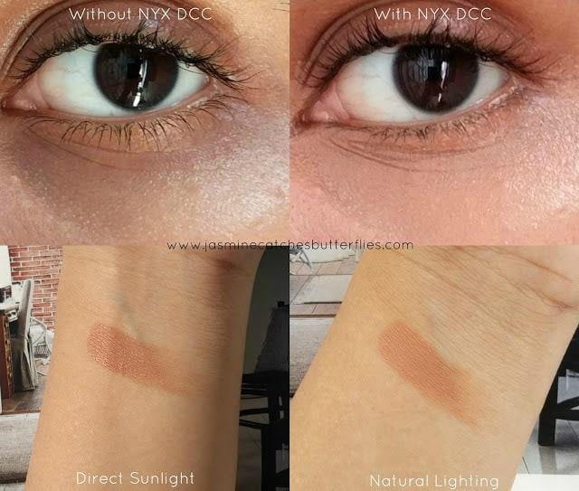 NYX Dark Circle Concealer in Deep Swatches