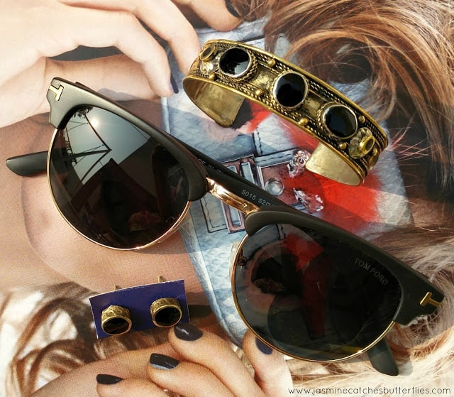 Tom Ford Henry Vintage Wayfarers and Tribal Jewellery