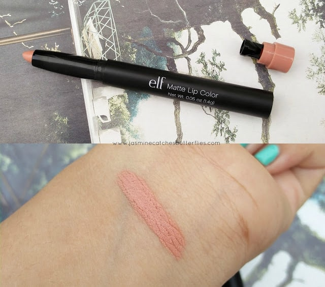 ELF Nearly Nude Matte Lip Color