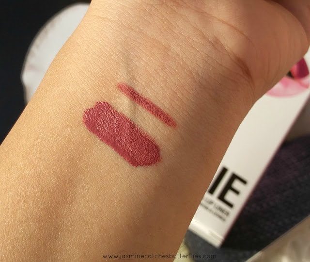 Kylie Lip Kit in Posie K Swatches