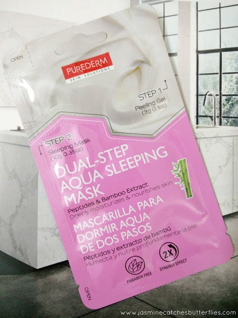 Dual Step Aqua Sleeping Mask