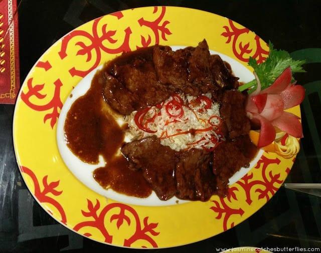 Wok Grilled Beef Tenderloin with Cantonese Char Siu Sauce