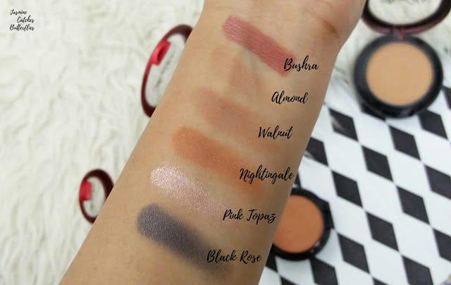 Atiqa Odho Makeup Swatches