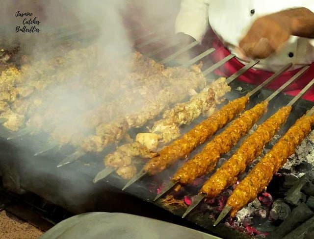 Barbecue at Burns Road Night at Sky BBQ, Avari Towers