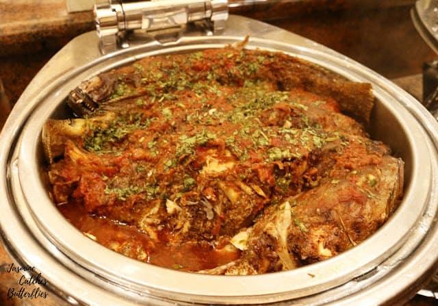 Egyptian Fish Dish
