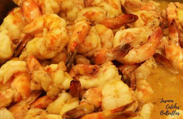 Prawns in Orange Sauce