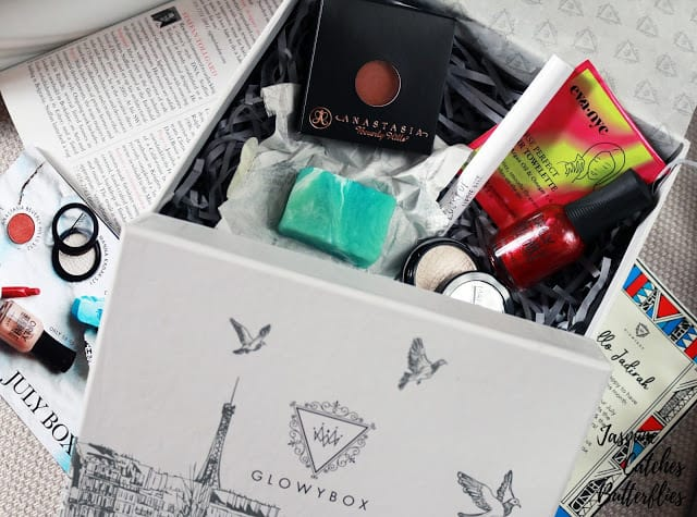 July Glowy Box Review