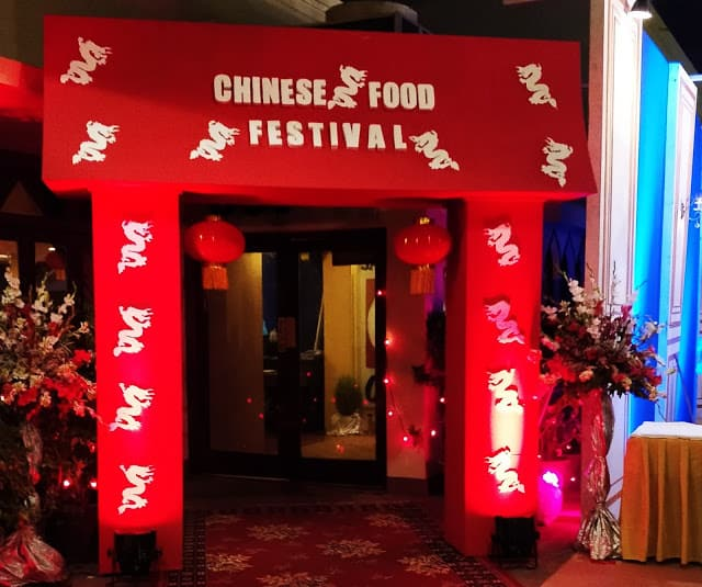 Chinese Food Festival At Beach Luxury Hotel