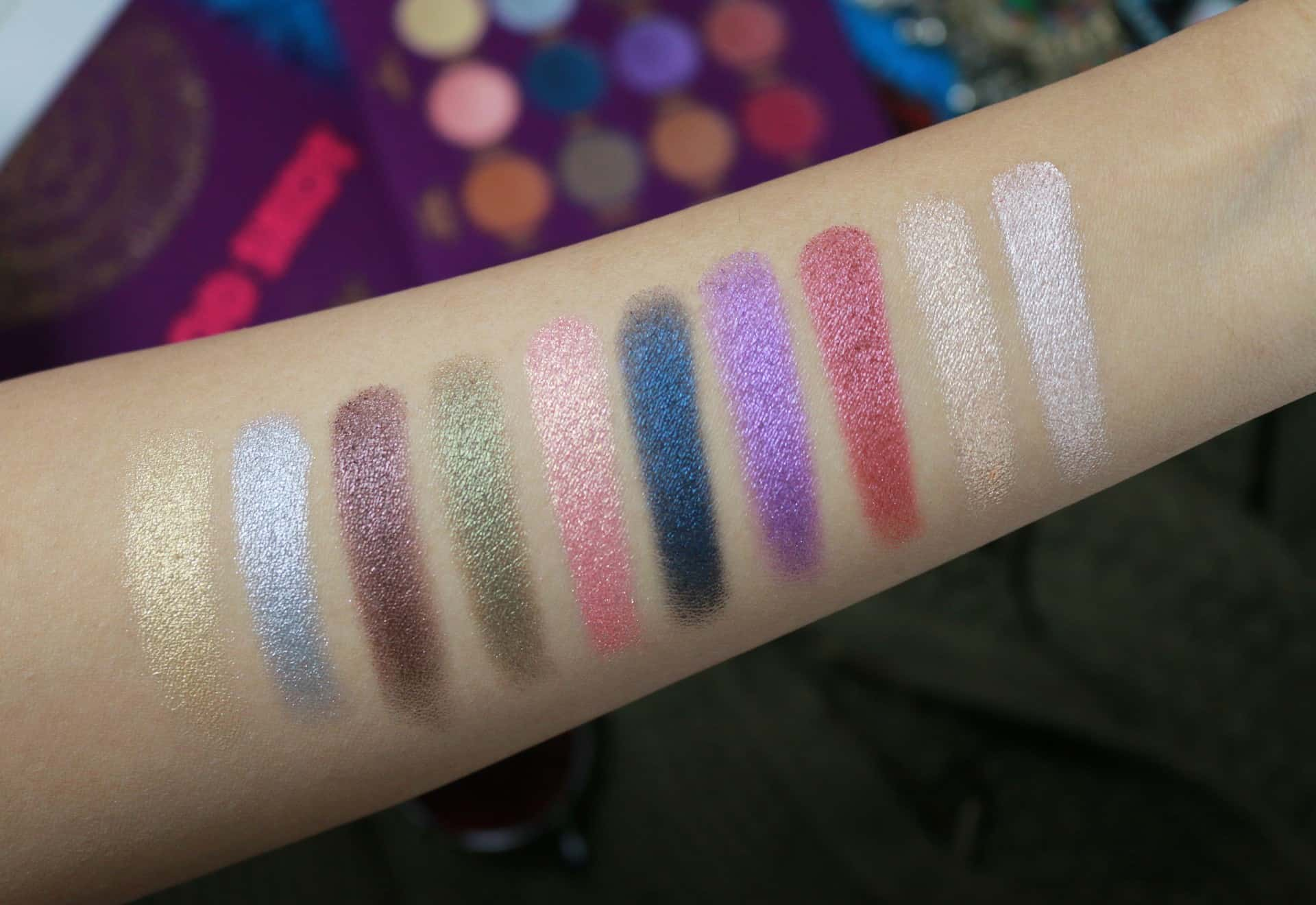 Mod Skot Shimmery Swatches