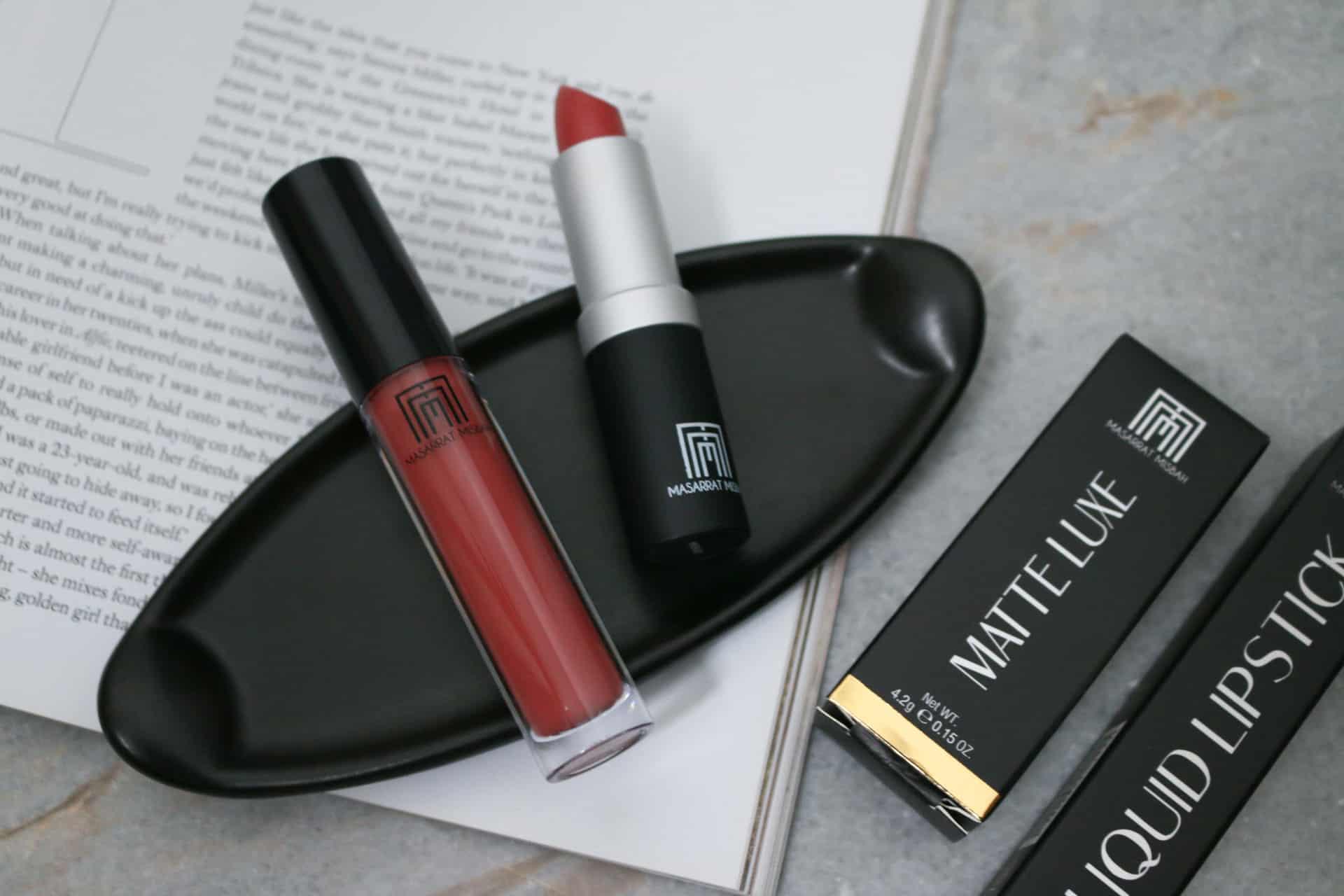Masarrat Misbah Dolce Vita and Athena Lipsticks