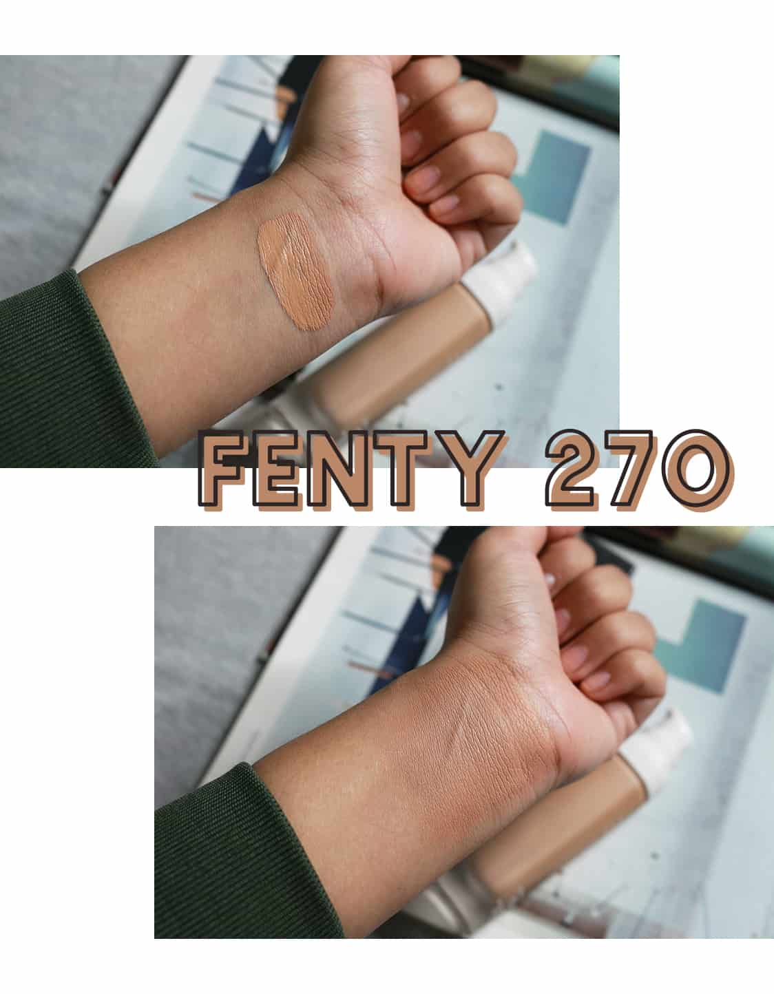 Fenty Beauty Pro Filt'r Foundation in Shade 270